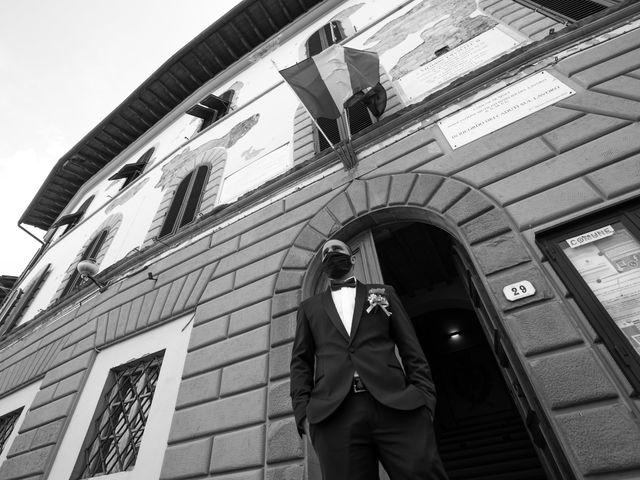 Il matrimonio di Christian e Veronica a Vinci, Firenze 6