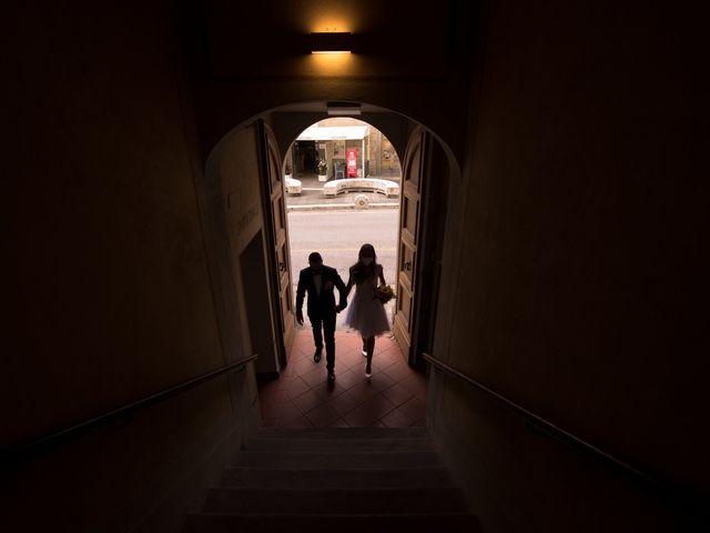 Il matrimonio di Christian e Veronica a Vinci, Firenze 11