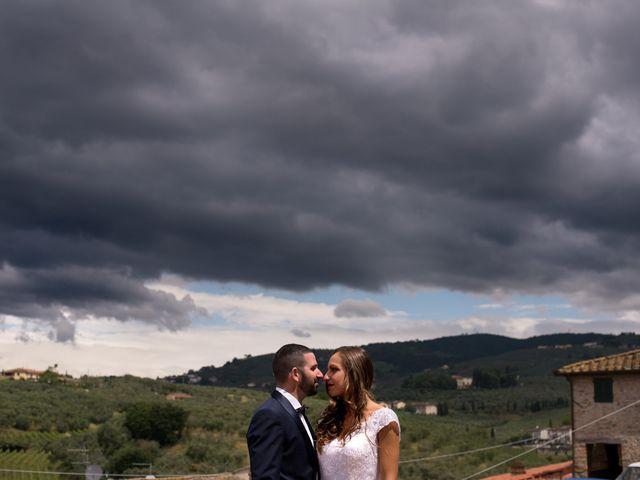 Il matrimonio di Christian e Veronica a Vinci, Firenze 18