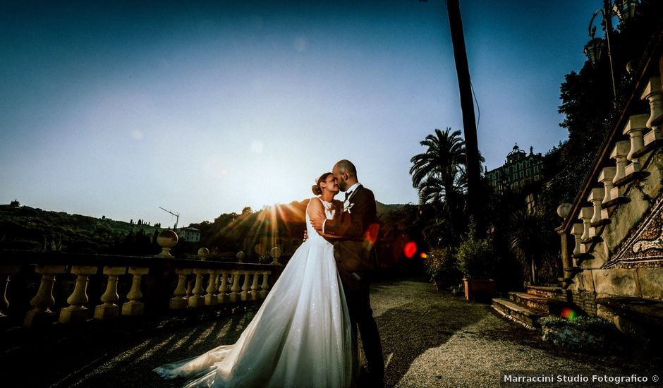 Il matrimonio di Damiano e Ramona a Pescia, Pistoia