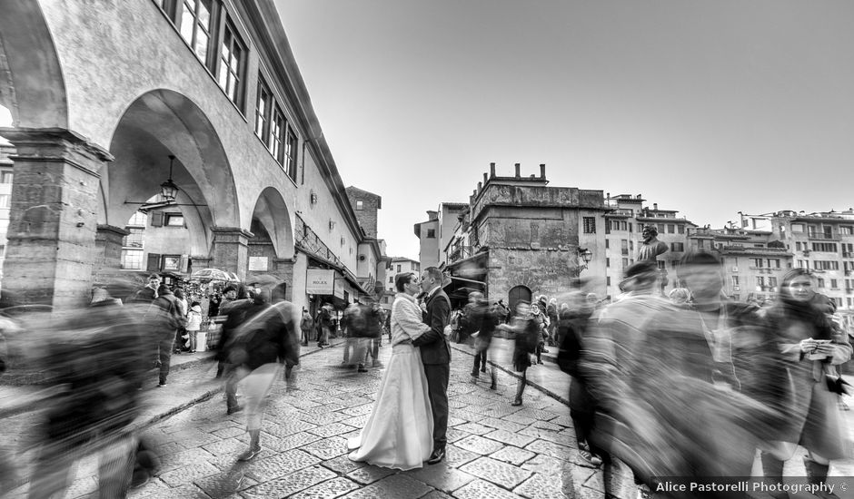 Il matrimonio di Taoufiq e Martina a Firenze, Firenze