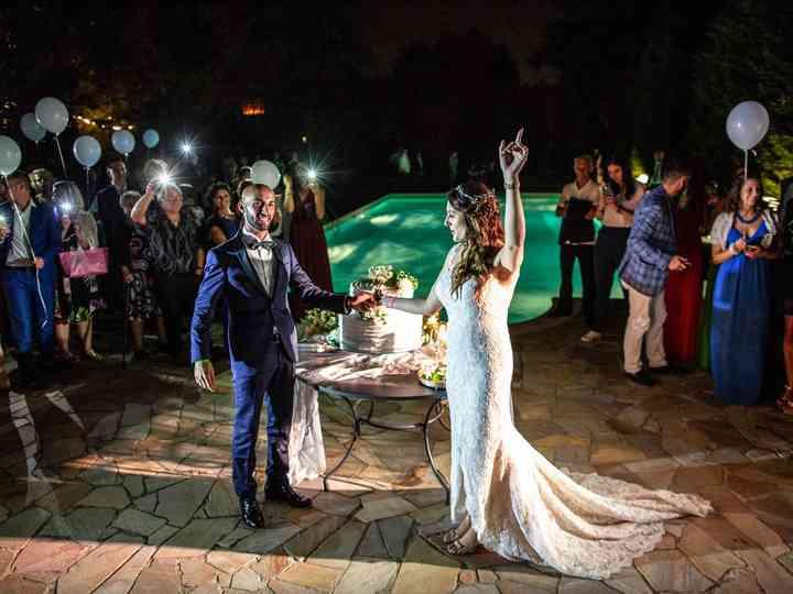 le nozze di Gaia e Massi