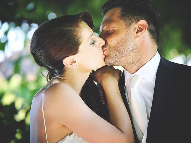 Le nozze di Giorgia e Rolando
