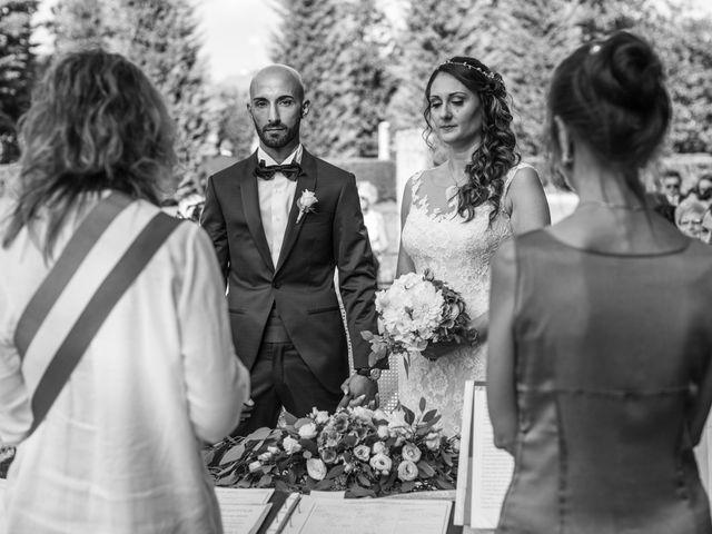 Il matrimonio di Massi e Gaia a Inveruno, Milano 110