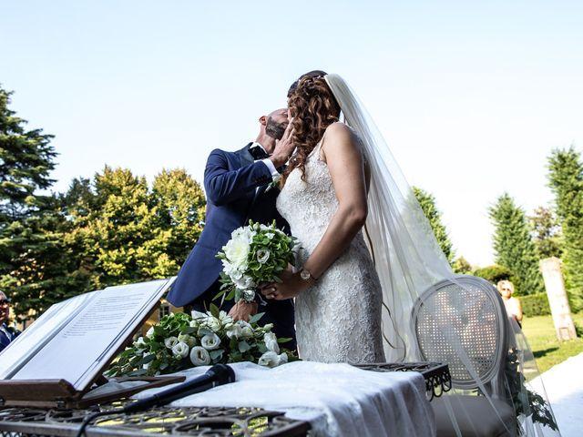 Il matrimonio di Massi e Gaia a Inveruno, Milano 124