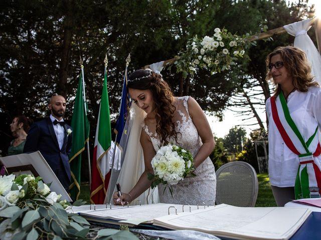 Il matrimonio di Massi e Gaia a Inveruno, Milano 142