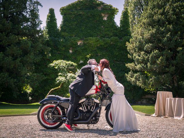 Le nozze di Cristina e Gianluca