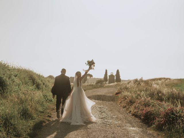 Il matrimonio di Giorgio e Olga a Castiglione d'Orcia, Siena 42