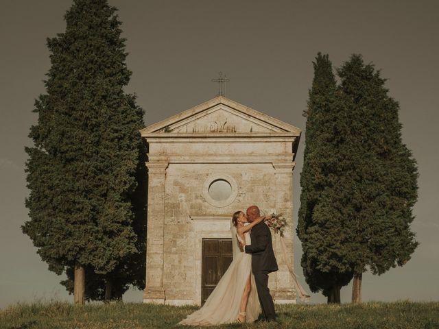 Il matrimonio di Giorgio e Olga a Castiglione d'Orcia, Siena 45
