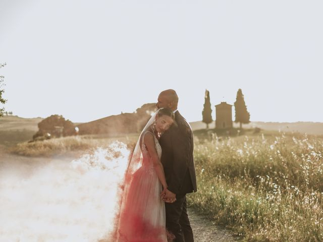 Il matrimonio di Giorgio e Olga a Castiglione d'Orcia, Siena 49