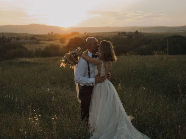 Il matrimonio di Giorgio e Olga a Castiglione d'Orcia, Siena 63