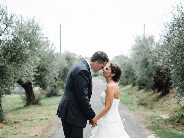 le nozze di Carla e Enrico