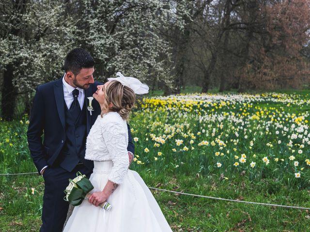 Il matrimonio di Simone e Carola a Piobesi Torinese, Torino 51