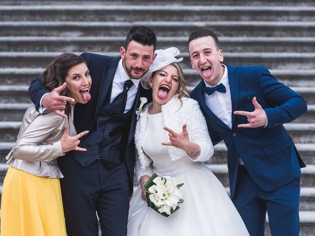 Il matrimonio di Simone e Carola a Piobesi Torinese, Torino 53
