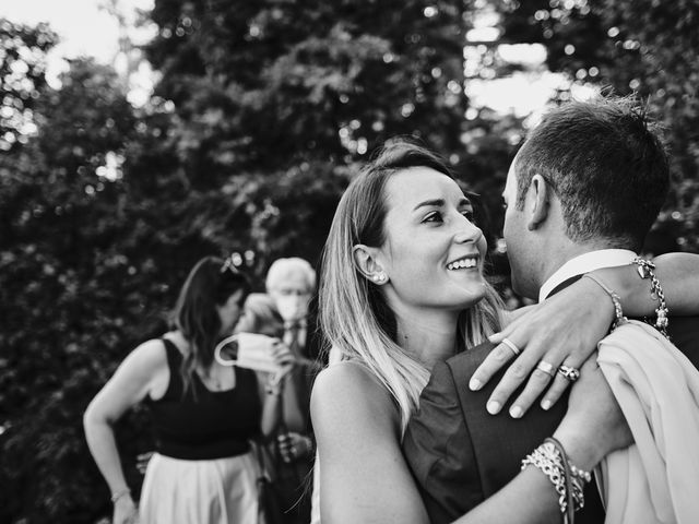 Il matrimonio di Niccolò e Annalisa a Bodio Lomnago, Varese 65