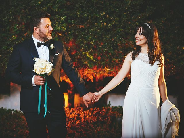 le nozze di Enrica e Fabio