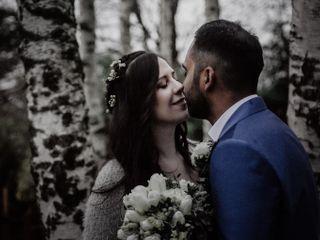 Le nozze di Anoeshka e Willians