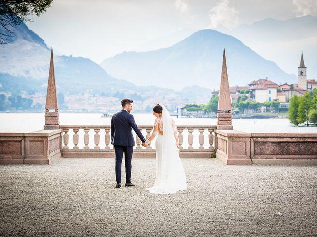 Il matrimonio di Davide e Alessia a Stresa, Verbania 5