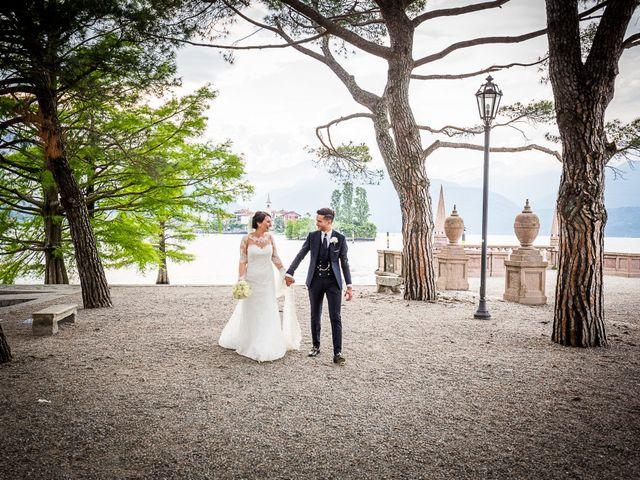 Il matrimonio di Davide e Alessia a Stresa, Verbania 18