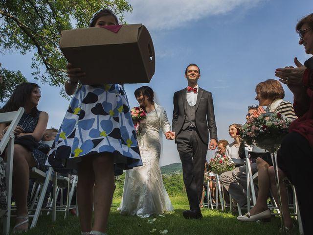 Il matrimonio di Luca e Federica a Oggiono, Lecco 41