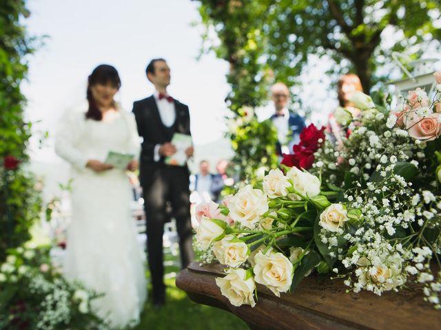Il matrimonio di Luca e Federica a Oggiono, Lecco 42