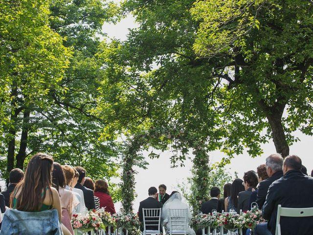 Il matrimonio di Luca e Federica a Oggiono, Lecco 44