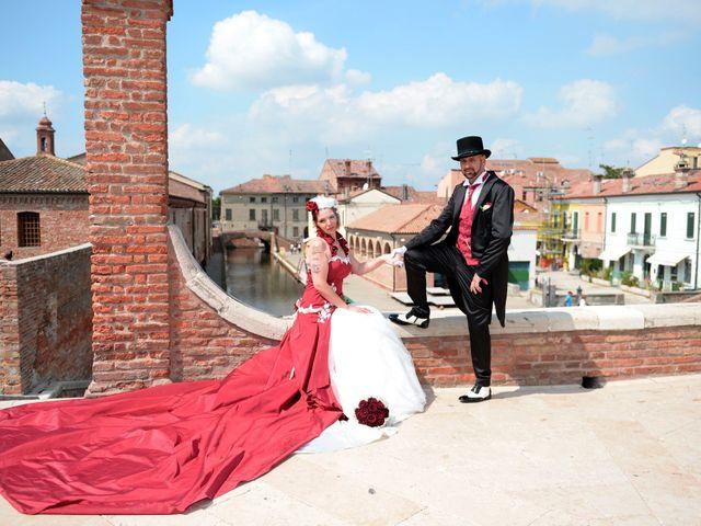 Il matrimonio di Marika e Diego a Comacchio, Ferrara 52