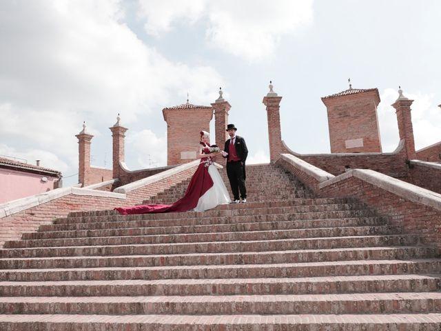 Il matrimonio di Marika e Diego a Comacchio, Ferrara 54