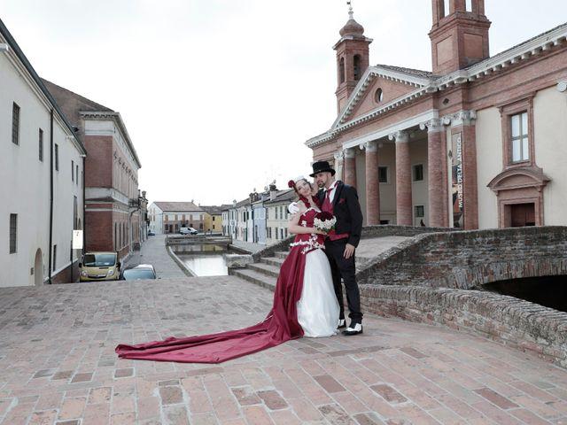 Il matrimonio di Marika e Diego a Comacchio, Ferrara 59