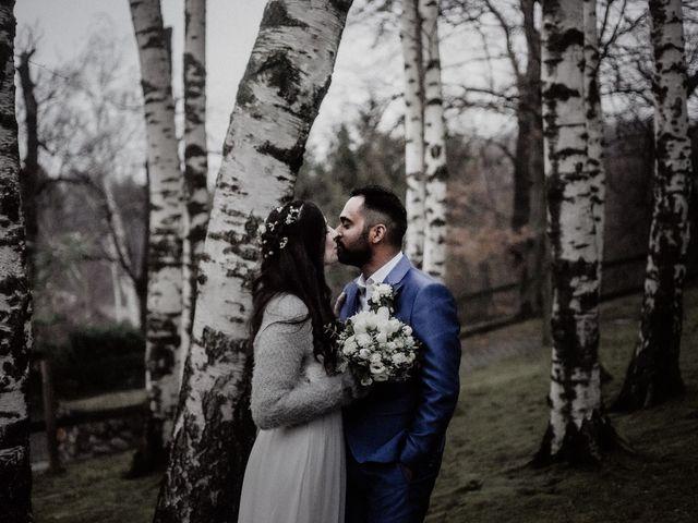 Il matrimonio di Willians e Anoeshka a Malnate, Varese 137