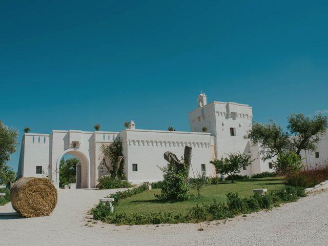 Il matrimonio di Christelle e Phil a Polignano a Mare, Bari 2