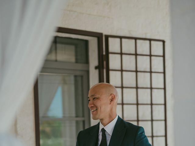 Il matrimonio di Christelle e Phil a Polignano a Mare, Bari 11