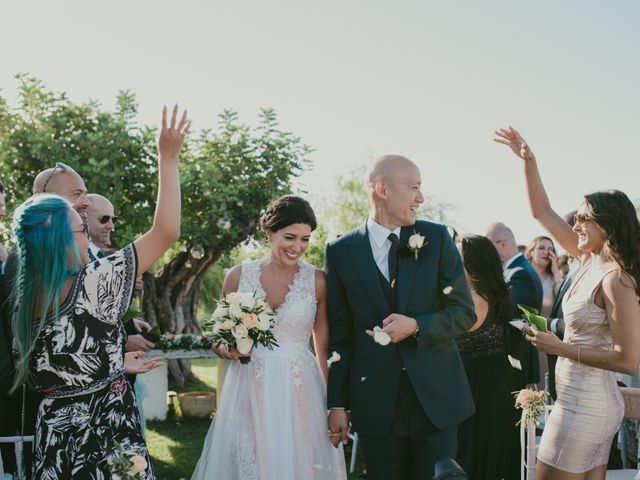 Il matrimonio di Christelle e Phil a Polignano a Mare, Bari 34