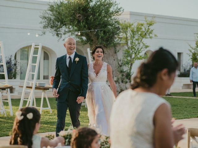 Il matrimonio di Christelle e Phil a Polignano a Mare, Bari 54