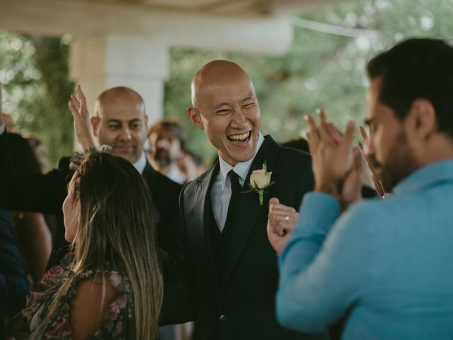 Il matrimonio di Christelle e Phil a Polignano a Mare, Bari 57