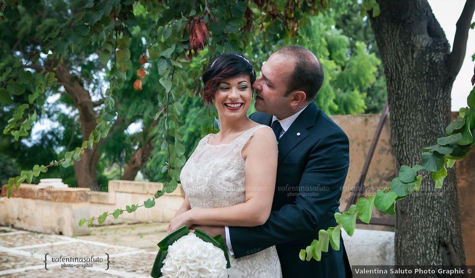 Il matrimonio di Giuseppe e Enza a Partanna, Trapani