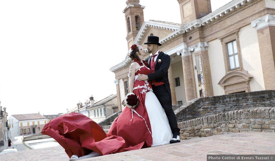 Il matrimonio di Marika e Diego a Comacchio, Ferrara
