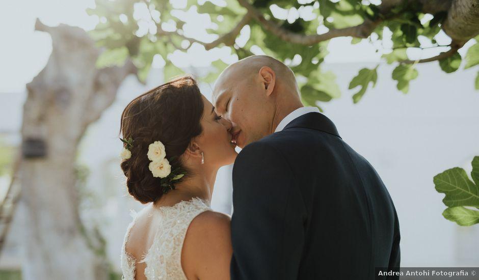 Il matrimonio di Christelle e Phil a Polignano a Mare, Bari