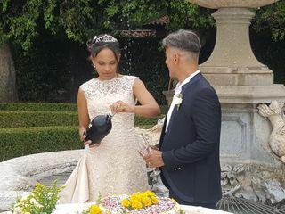 Le nozze di Kayiba e Alessandro