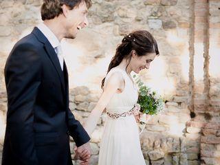 Le nozze di Immacolata e Andrea