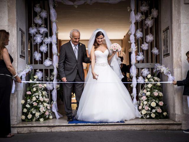Il matrimonio di Emanuele e Francesca a Roma, Roma 20
