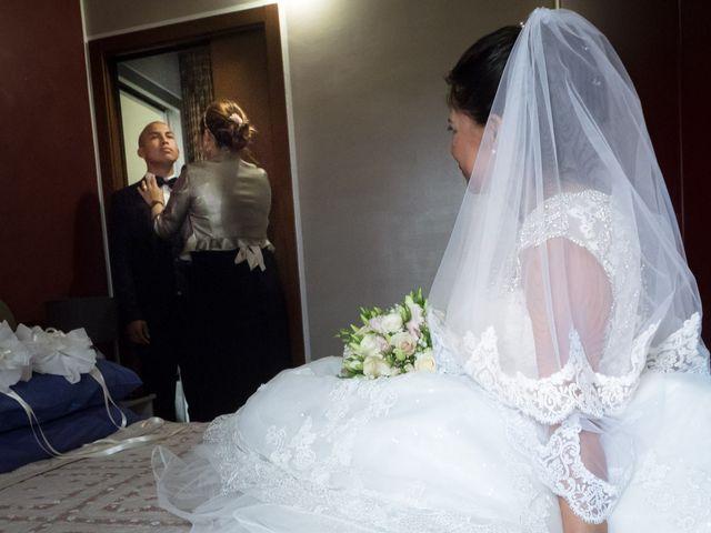 Il matrimonio di Giuseppe e Maribel a Vittuone, Milano 1