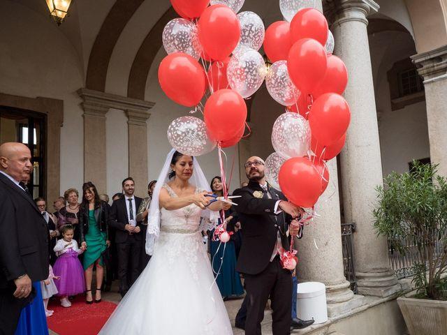 Il matrimonio di Giuseppe e Maribel a Vittuone, Milano 17