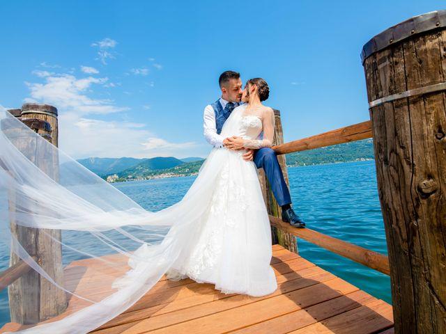 Il matrimonio di Manuel e Camilla a Soriso, Novara 21