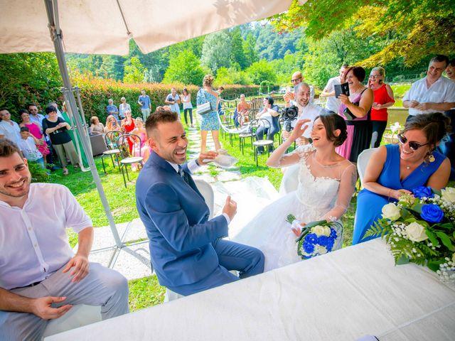 Il matrimonio di Manuel e Camilla a Soriso, Novara 35