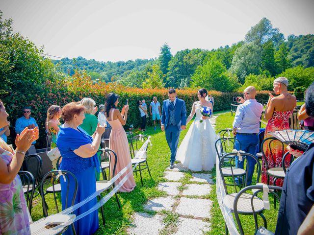 Il matrimonio di Manuel e Camilla a Soriso, Novara 37