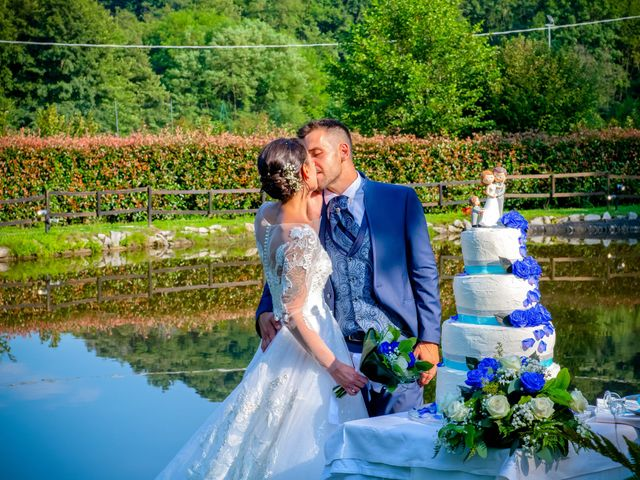 Il matrimonio di Manuel e Camilla a Soriso, Novara 80