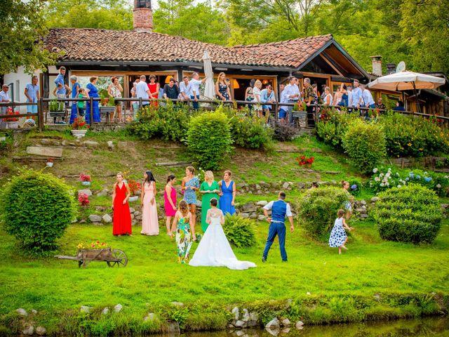 Il matrimonio di Manuel e Camilla a Soriso, Novara 94