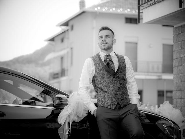 Il matrimonio di Manuel e Camilla a Soriso, Novara 110