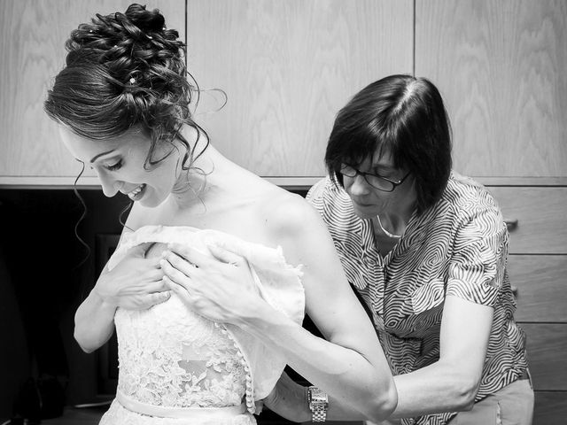 Il matrimonio di denis e chiara a Bonate Sopra, Bergamo 5